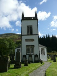 Kilmorich Church at Cairndow, Loch Fyne
