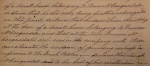 Extract from the Inishail Kirk Session Records CH2/968/1 The National Archives of Scotland