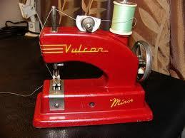 A children's sewing machine like the one I had.