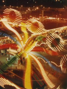 Sideshow alley lights
