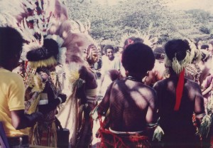 Traditional dress at Independence Hill, 16 September 1975