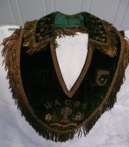 An example of an Hibernian sash.