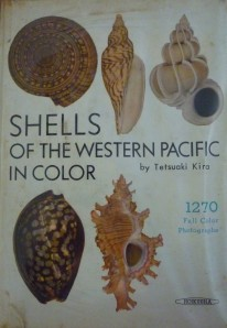 The beautiful book I bought with my shell cataloguing prize money.