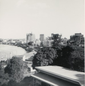 The Brisbane city skyline as I finished school.  From my photo collection.