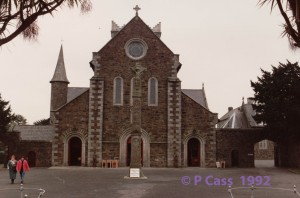 St Michael's Catholic Church, Gorey, Co Wexford where my Sherry family were married and baptised. © P Cass 1992.