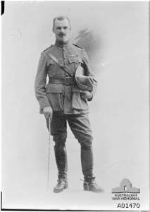 A studio photo of Lt Col Cass perhaps around the time of his posting to France. AWM photograph A01470, copyright expired. The photo is shown as Lt Col ERH Cass CMG so it appears the initials are a mistake.