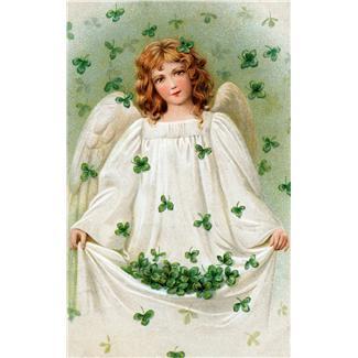 shamrock angel