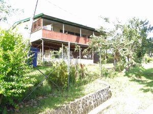NOW: The old Cass home in Top Town, 2012. The verandah upstairs is an addition as is the fencing on the bottom level.