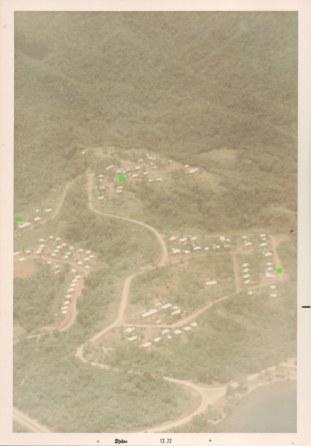 Alotau aerial with houses