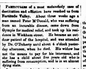 The Brisbane Courier, Friday 14 October 1870, page 2.
