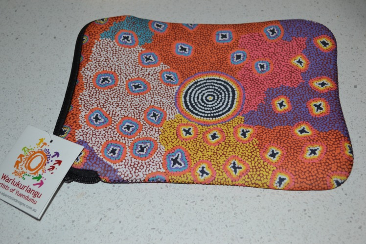 Fist Prize: Central Australian design iPad sleeve.