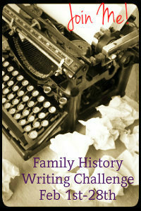 Family Hx writing challenge