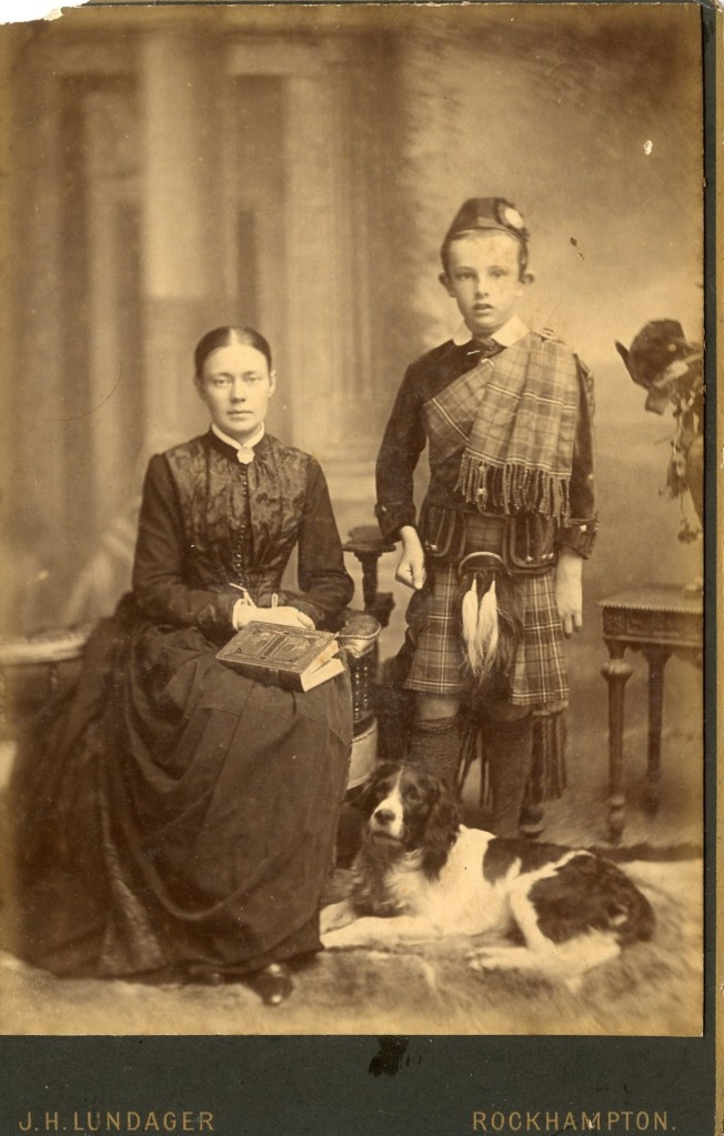 Unknown family by Lundager, Rockhampton, Queensland.
