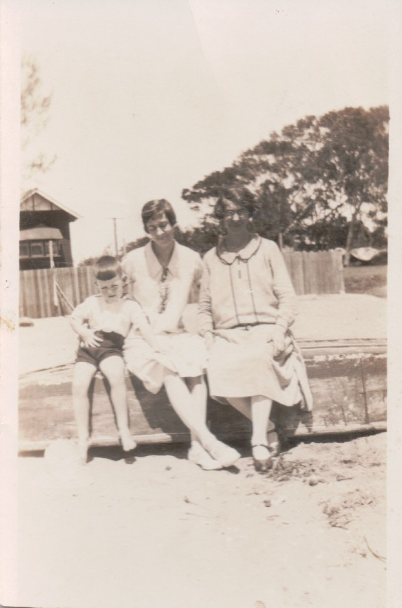 Norman and Kit Kunkel and Belle Bryson