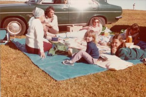 Cass families picnic Mary Cairncross Park