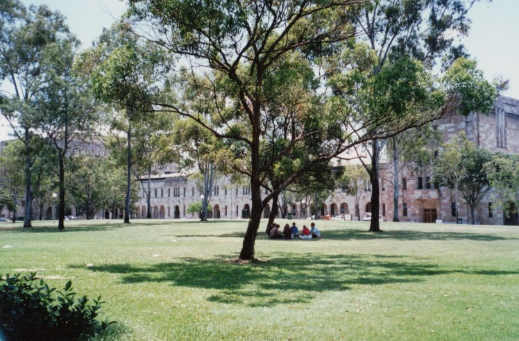 The Great Court at UQ c1998
