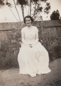 Another debutante in rural Victoria: Mr Cassmob's mother