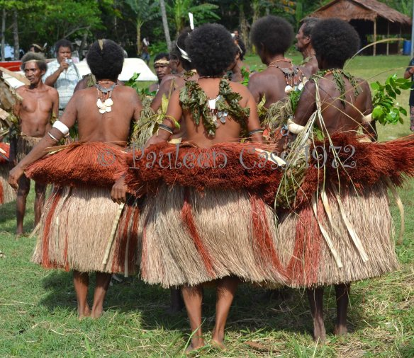 Milne Bay women at the 2012 Kenu and Kundu festival. © Pauleen Cass 2012