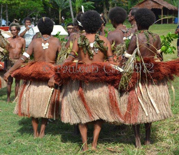 Milne Bay women at the 2012 Kenu and Kundu festival. © Pauleen Cass 2012