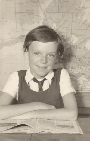 Pauleen at primary school c1959