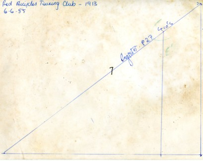 The notations on the reverse. I can't help wondering if 6.6.85 was someone's birthday.