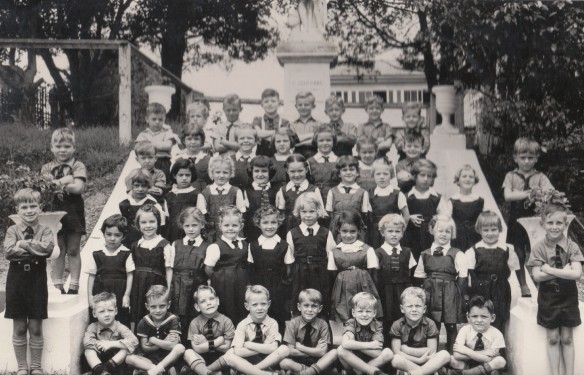 This photo includes at least two classes from my primary school.