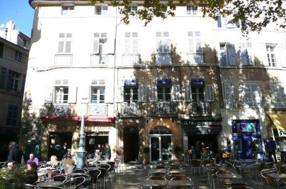 Aix-en Provence cafe.