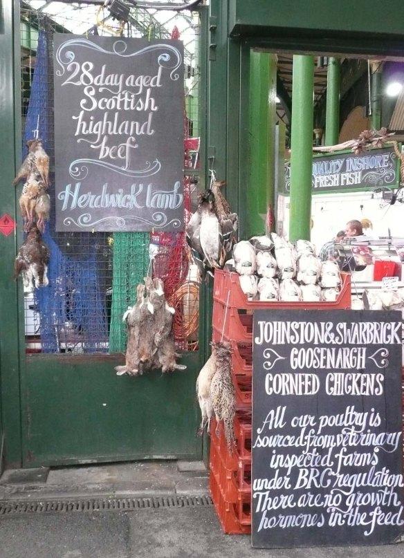 At the Borough Markets