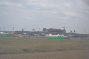 The impact of Jomo Kenyatta airport's fire.