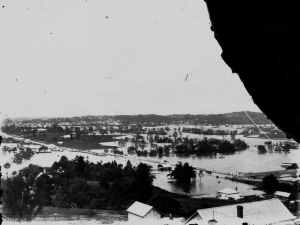 Flooding around Enoggera Creek Windsor 1893 (1)