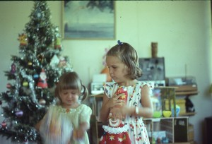 Our fake pine tree, DD1 and 2, Port Moresby 1977