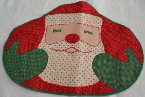 Santa Xmas craft