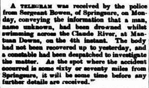 The Capricornian (Rockhampton, Qld. : 1875 - 1929), Saturday 12 March 1887, page 17