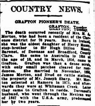 COUNTRY NEWS. (1926, February 4). The Sydney Morning Herald (NSW : 1842 – 1954), p. 12. http://nla.gov.au/nla.news-article16280235