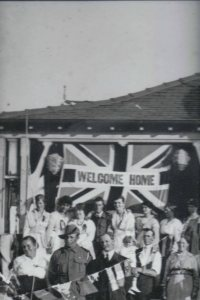 Fred Fisher and a joyous welcome home.