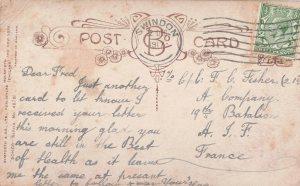Postcard sent 22 December 1917.