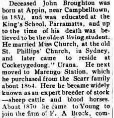 Link with the Early Days. (1924, October 24). The Burrowa News (NSW : 1874 - 1951), p. 2. http://nla.gov.au/nla.news-article103199365