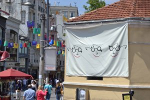 Taksim Square shopping festival  -we've got our eyes on you!