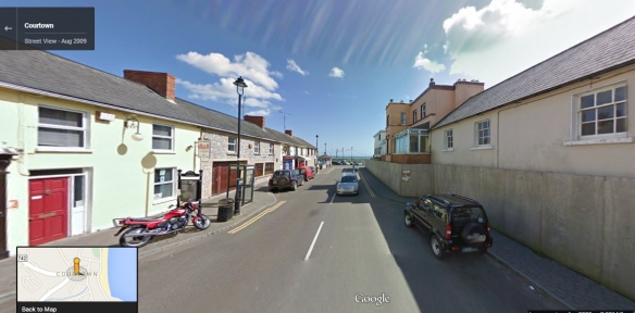 Courtown on Google Earth.