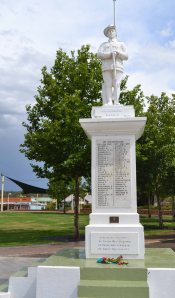 The World War I memorial in the Darling Downs town of Crows Nest, Qld.