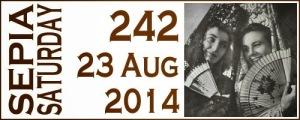 Sepia Saturday Aug 14