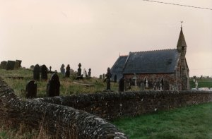 Courtown Church of Ireland, 3 December 1989.