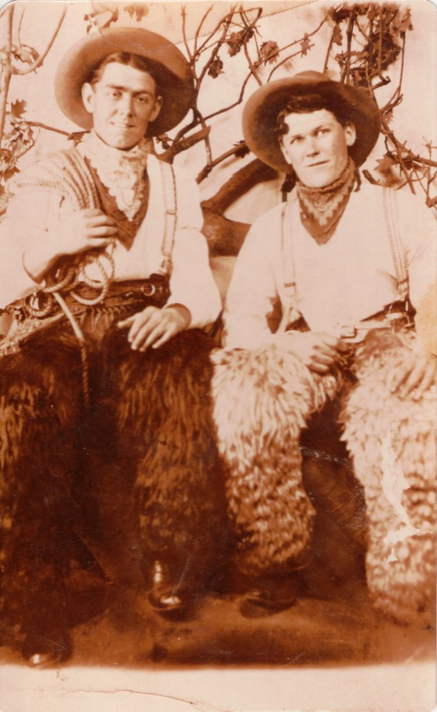"""The reverse says """"Michael Keane and friend"""" circa 1900s. He would also have been 1st cousin to John Garvey."""