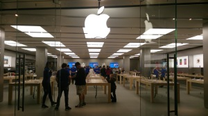Now THAT's an Apple shop!