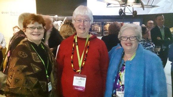 Gail (NT), Judy (Qld) and Jill (NSW)