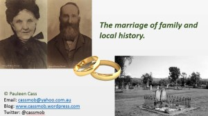 marriage local and family history