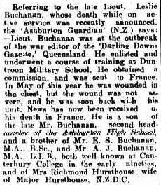 PERSONAL. (1918, October 14). Darling Downs Gazette (Qld. : 1881 - 1922), p. 4. http://nla.gov.au/nla.news-article176352463