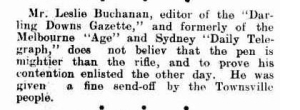 PERSONAL. (1916, February 10). Freeman's Journal (Sydney, NSW : 1850 - 1932), p. 15. http://nla.gov.au/nla.news-article115305390