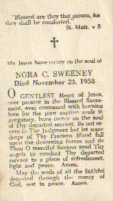 funeral card nora sweeney2