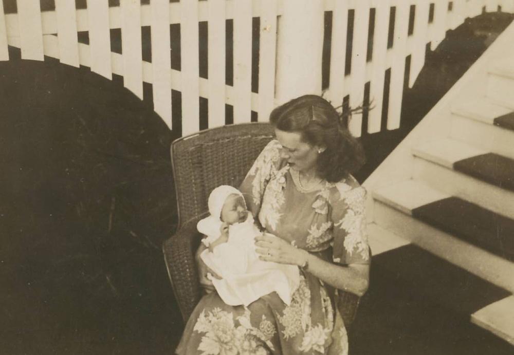 Pauleen & Joan Jan-Feb 1949
